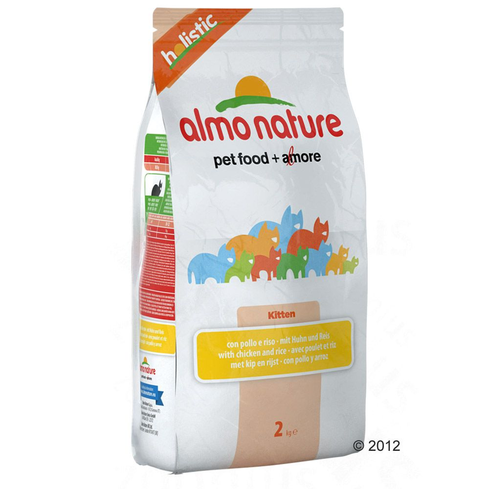 Image of Almo Nature Holistic Kitten Huhn & Reis - 12 kg