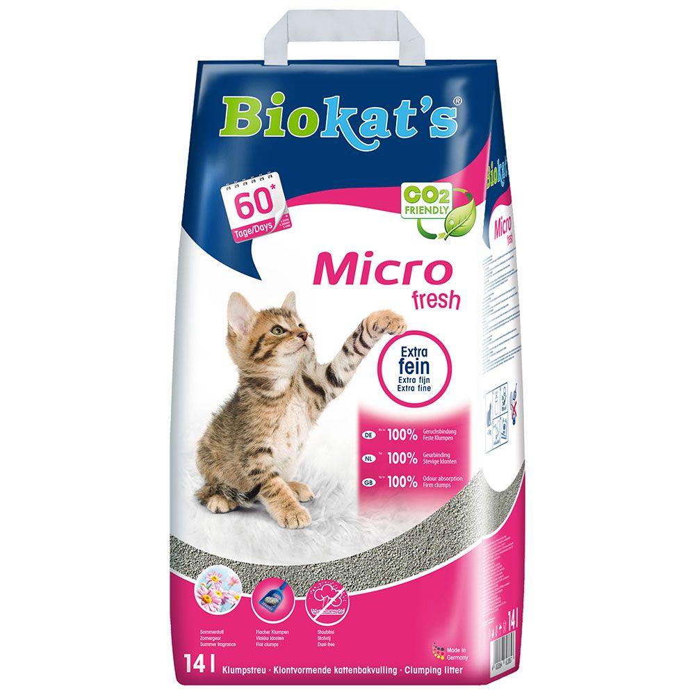 Biokat's Micro Fresh Katzenstreu - 14 l