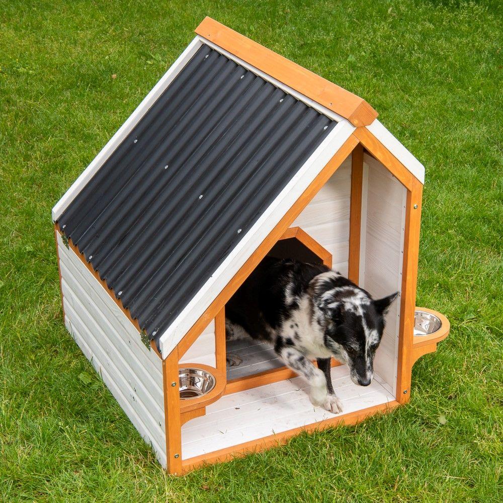 Caseta Modern Living Palma para perros - L: 74 x 97 x 97 cm (An x P x Al)