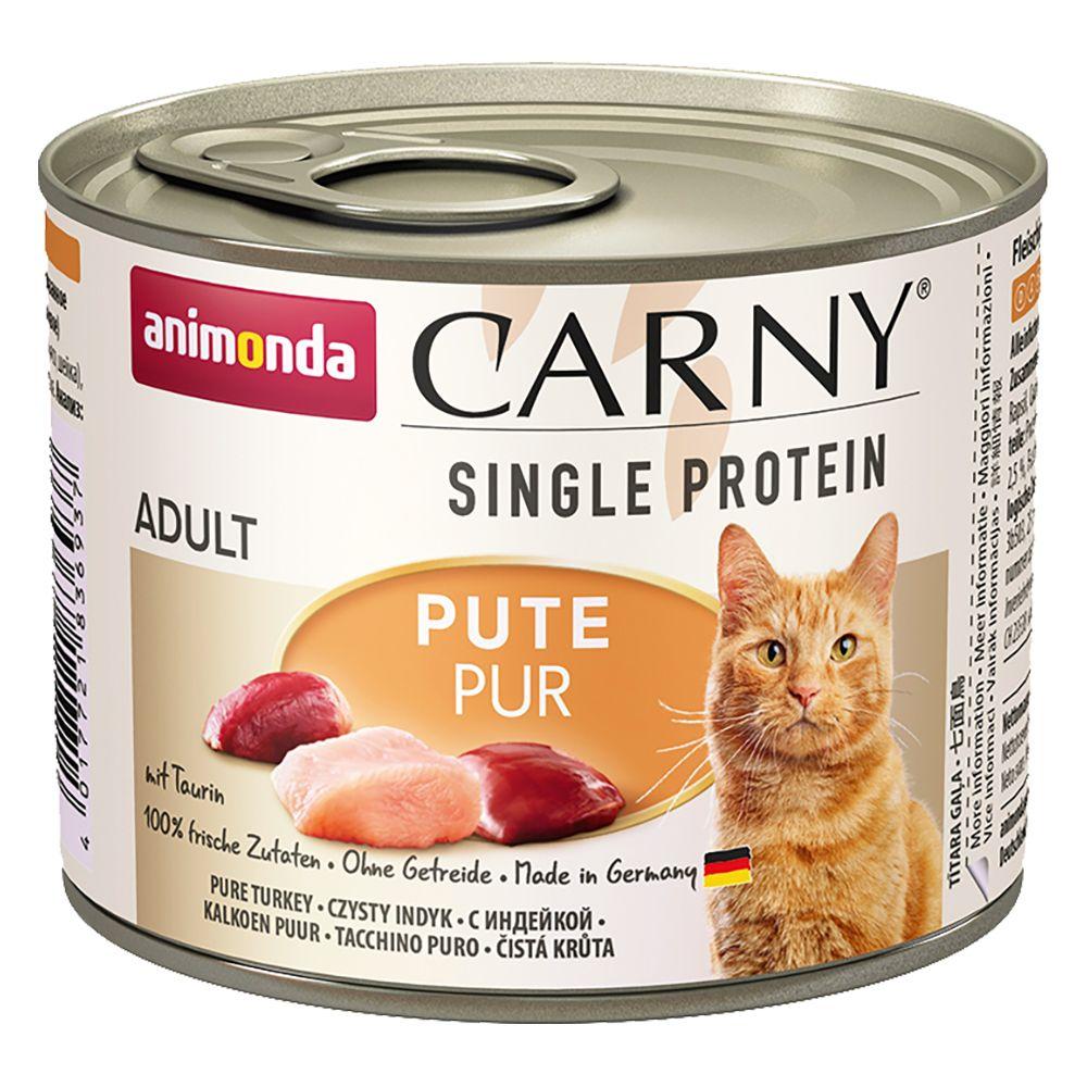 Animonda Carny Single Protein Adult 6 x 200 g - Kyckling pur