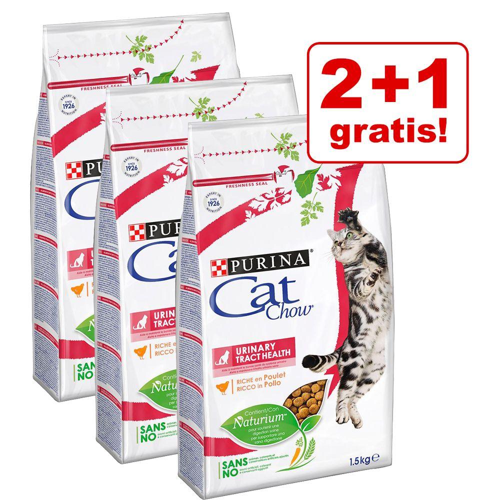 2 + 1 på köpet! 3 x 1,5 kg Cat Chow Adult - Special Care Sterilised