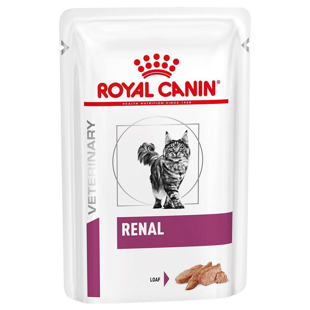 Royal Canin Renal Mousse Veterinary Diet comida húmeda para gatos - 24 x 85 g - Pack Ahorro