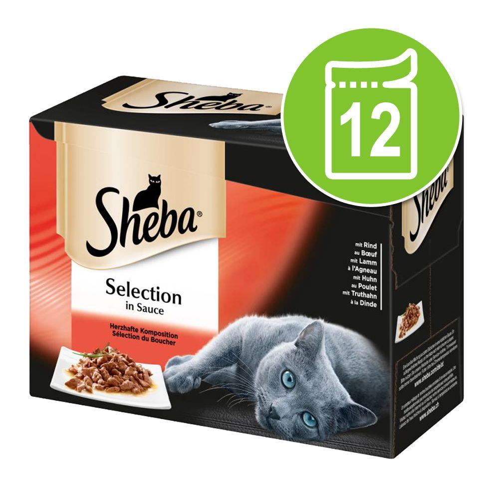 Sheba 12 x 85 g portionspåsar - Delicatesse in Jelly Fågelkött