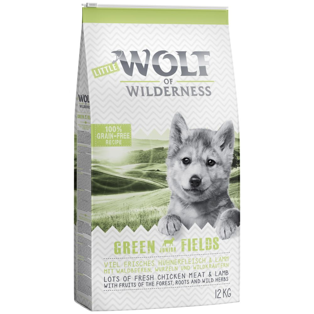 Junior Lamb Green Fields Wolf of Wilderness Dry Dog Food