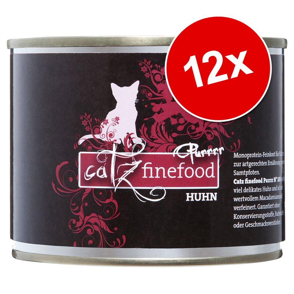 Image of Catz Finefood Purrrr 12 x 200/190 g - No. 111 Agnello (12 x 200 g)