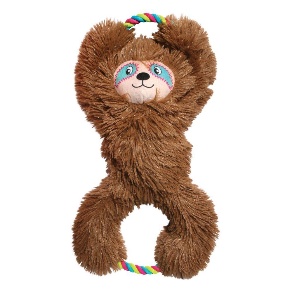 KONG Tuggz™ Sloth, ruskea - XL-koko: noin P 42 x L 23 x K 11 cm