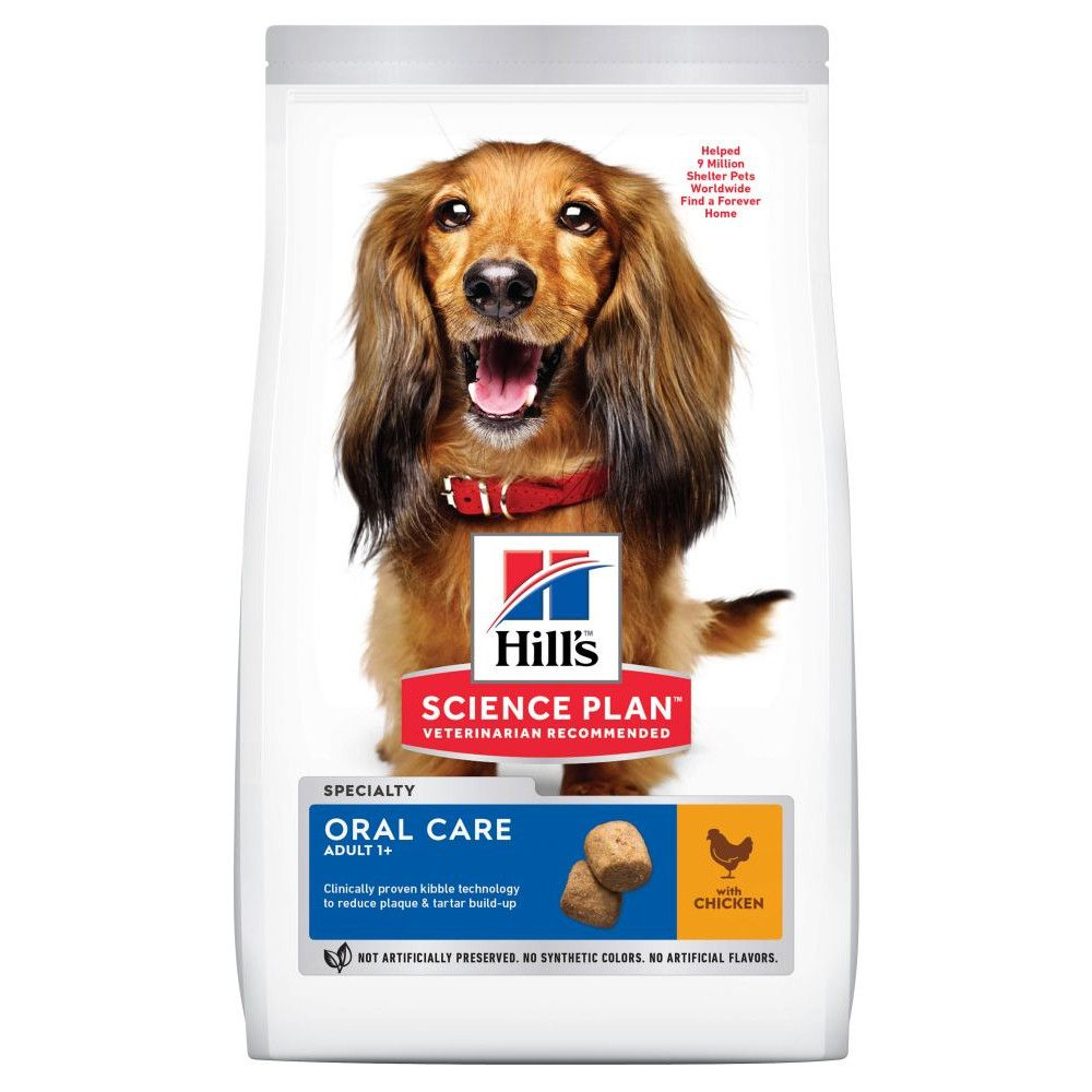 Adult Oral Care Chicken Hill's Science Plan Dry Dog Food