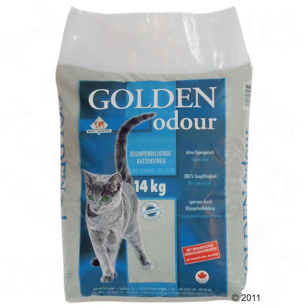 14 kg Golden Odour Katzenstreu