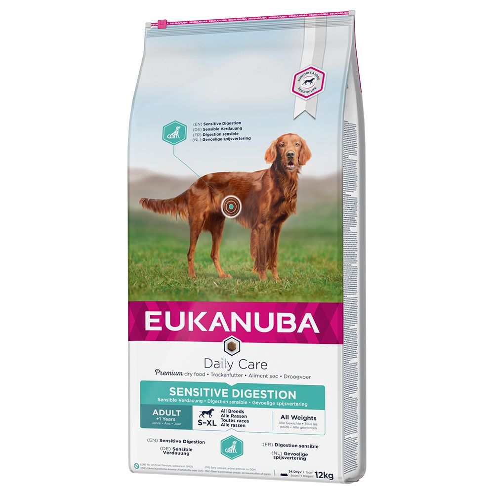 Eukanuba Daily Care Adult Sensitive Digestion - 12kg