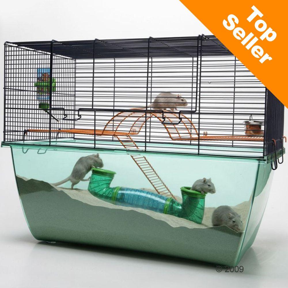 Cage Savic Habitat XL pour rongeur – L70 x l37 x H51 cm Zooplus FR