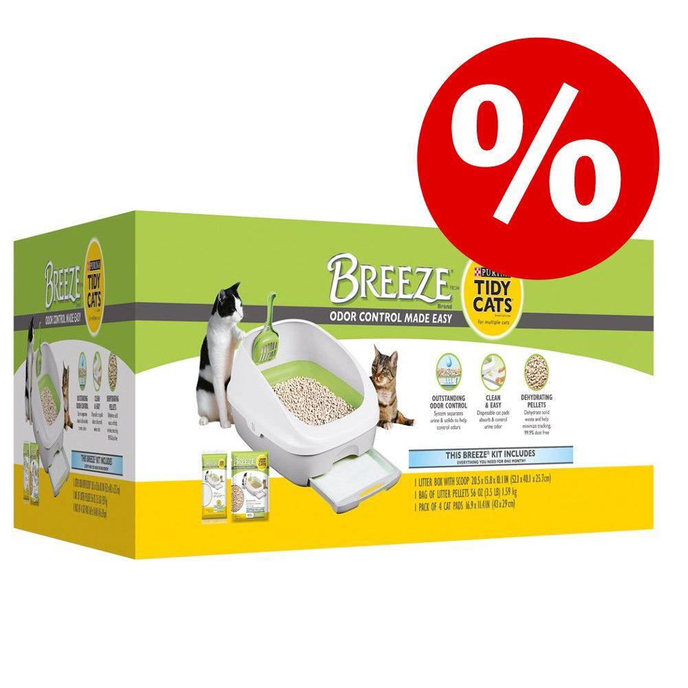 20 % rabatt på Purina Tidy Cats Breeze Startbox! - Startbox (kattlåda + tillbehör för 1 månad)