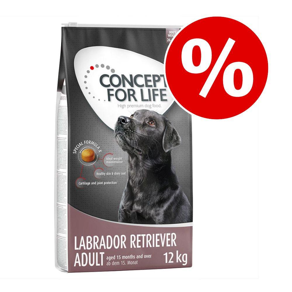 4 kg / 12 kg Concept for Life hundetørfoder til særpris! - 12 kg X-Large Junior