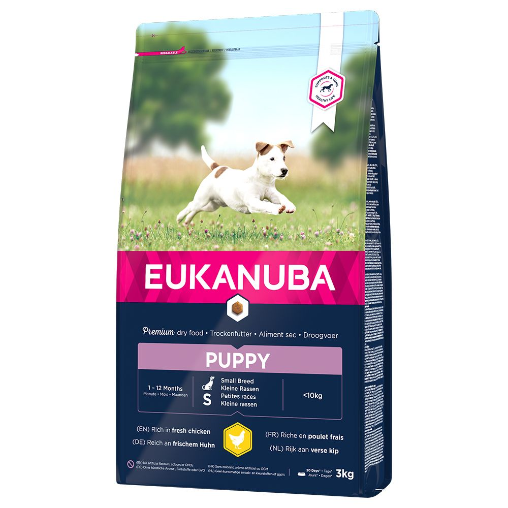 Image of Eukanuba Puppy Small Breed Pollo - 3 kg