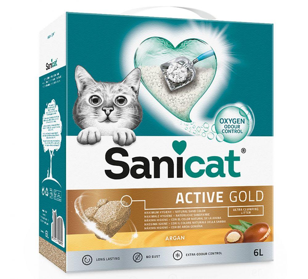 Sanicat Active Gold - 6 l