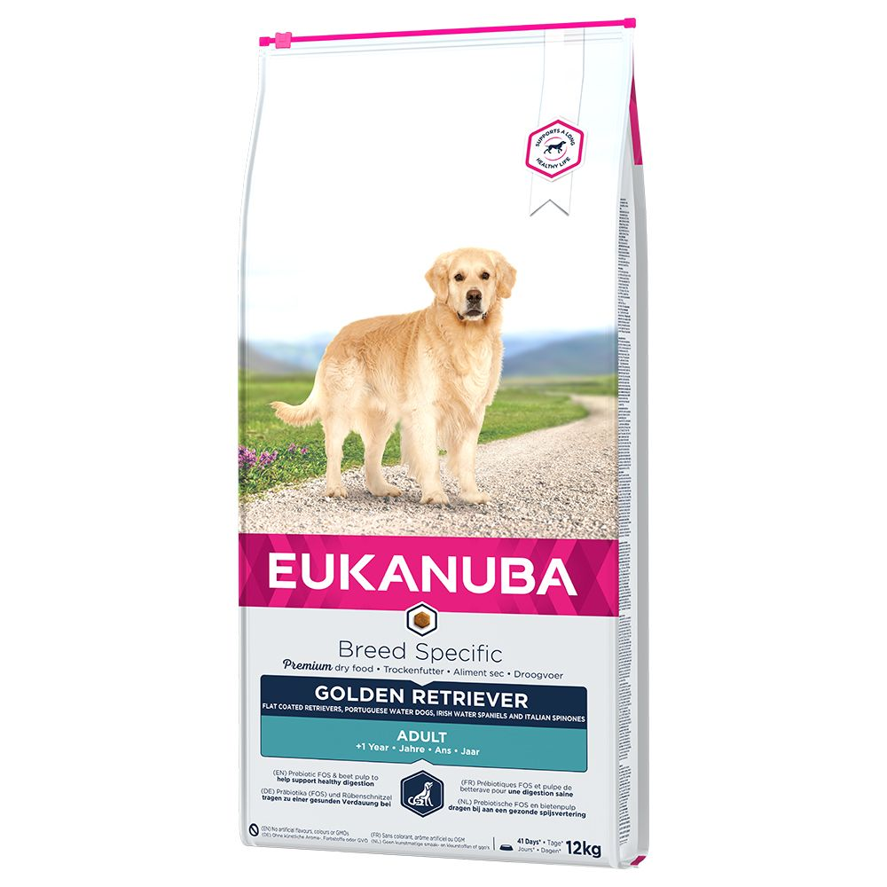 Eukanuba Golden Retriever Adult - Economy Pack: 2 x 12kg