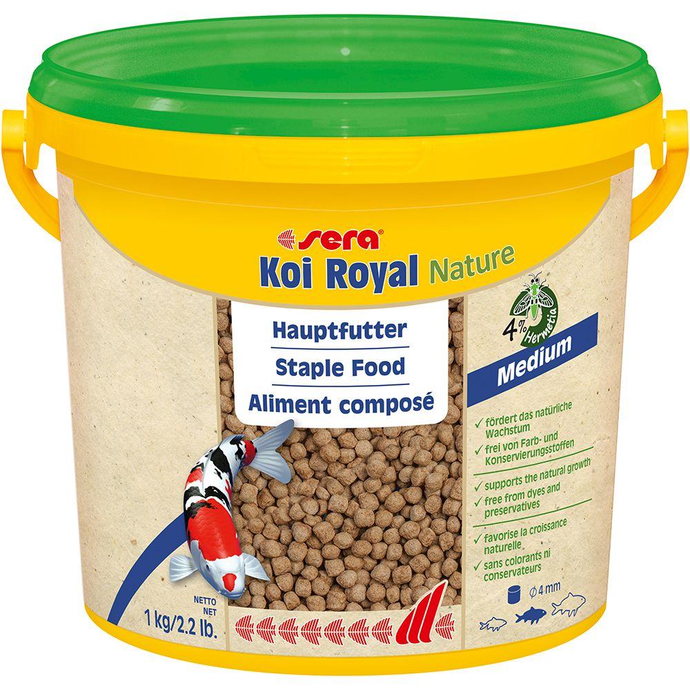 Sera Koi Royal medium  Granulat - 2 x 3800 ml
