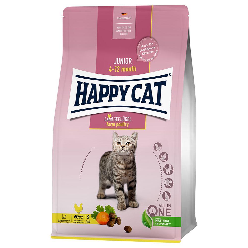 Happy Cat Young Junior Farm Poultry - Ekonomipack: 2 x 10 kg