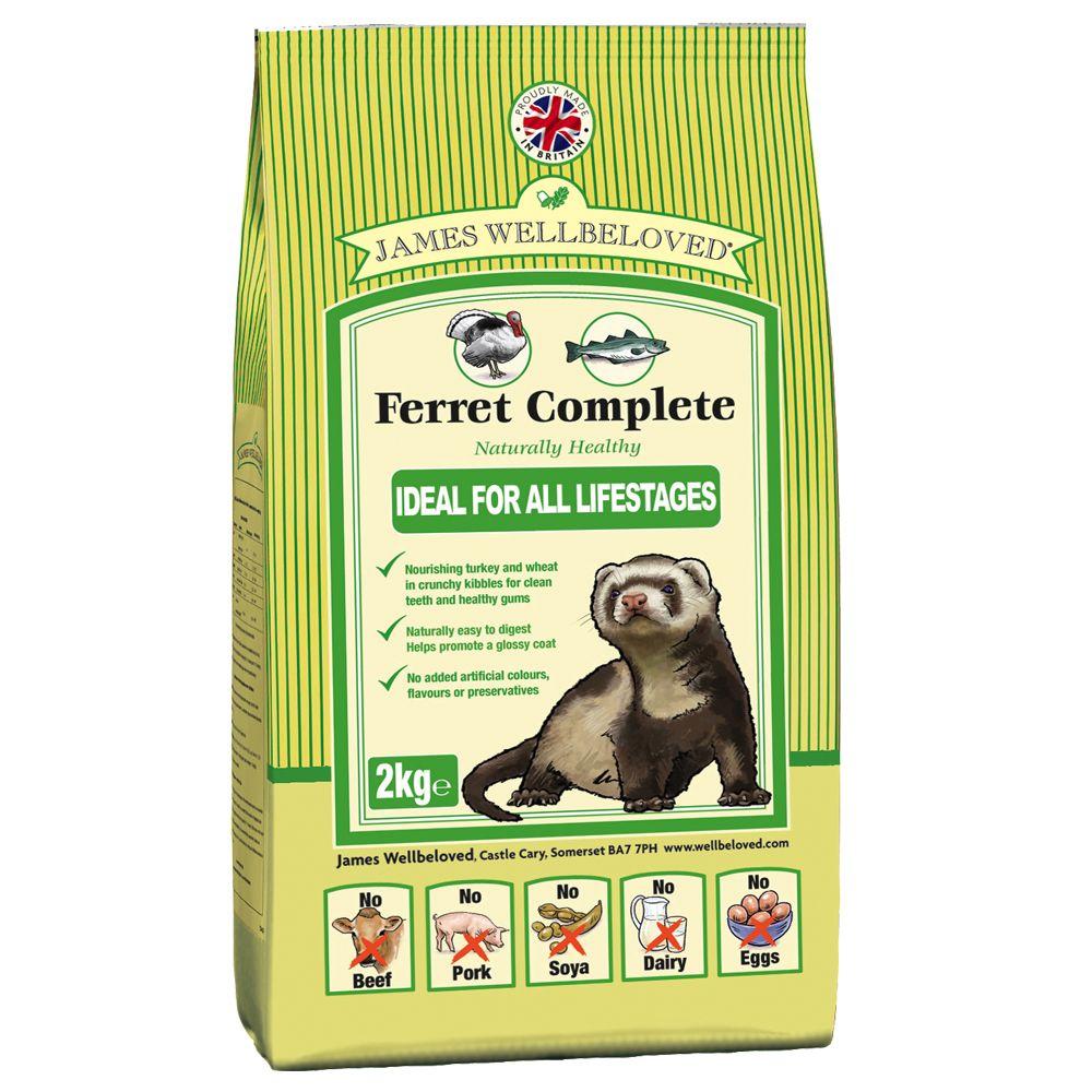 Foto James Wellbeloved Ferret Complete - 2 x 10 kg - prezzo top! Cibo secco per Furetti