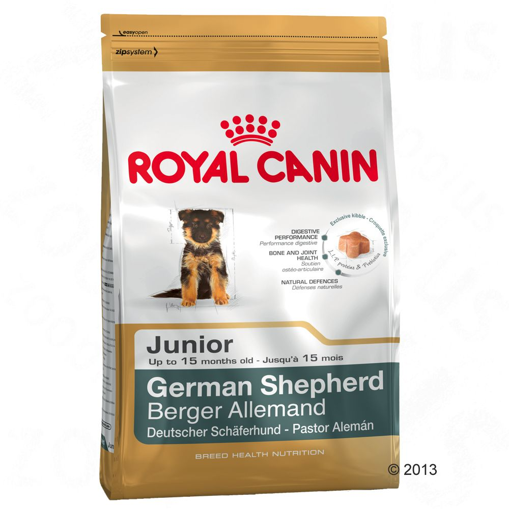 Chien Croquettes Royal Canin Breed German Shepherd