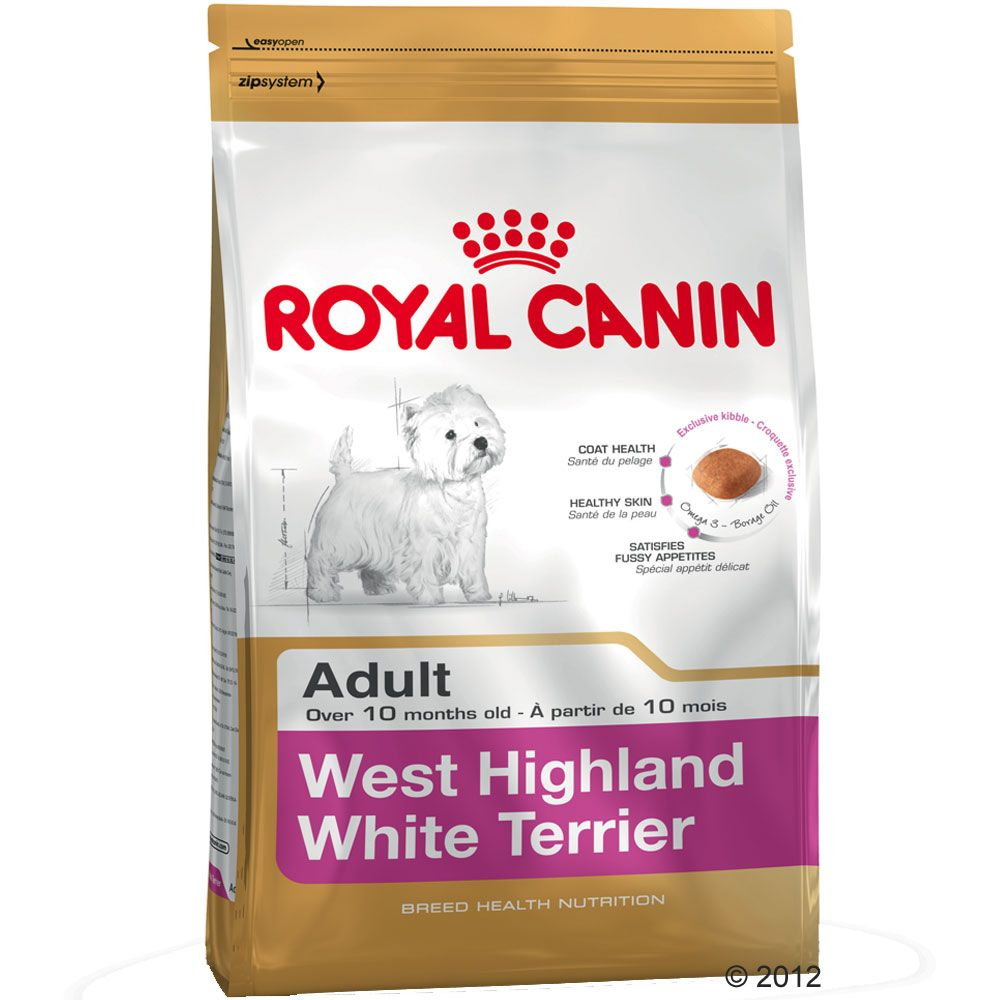 Chien Croquettes Royal Canin Breed West Highland Terrier