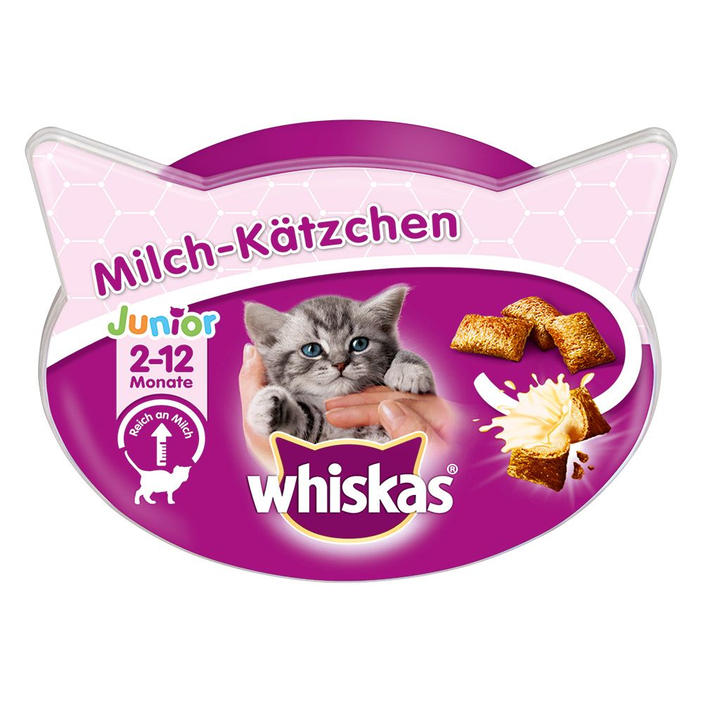 6x55g Milk Kitten Whiskas Cat Treats