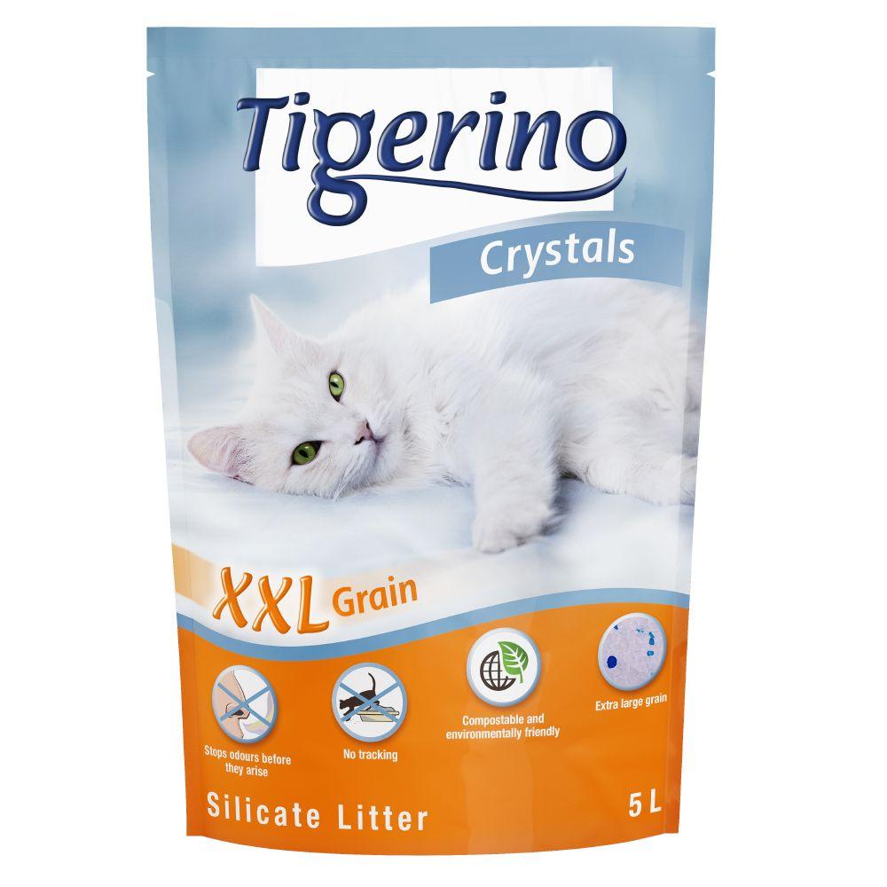 Tigerino Crystals XXL kattsand - Ekonomipack: 3 x 5 l