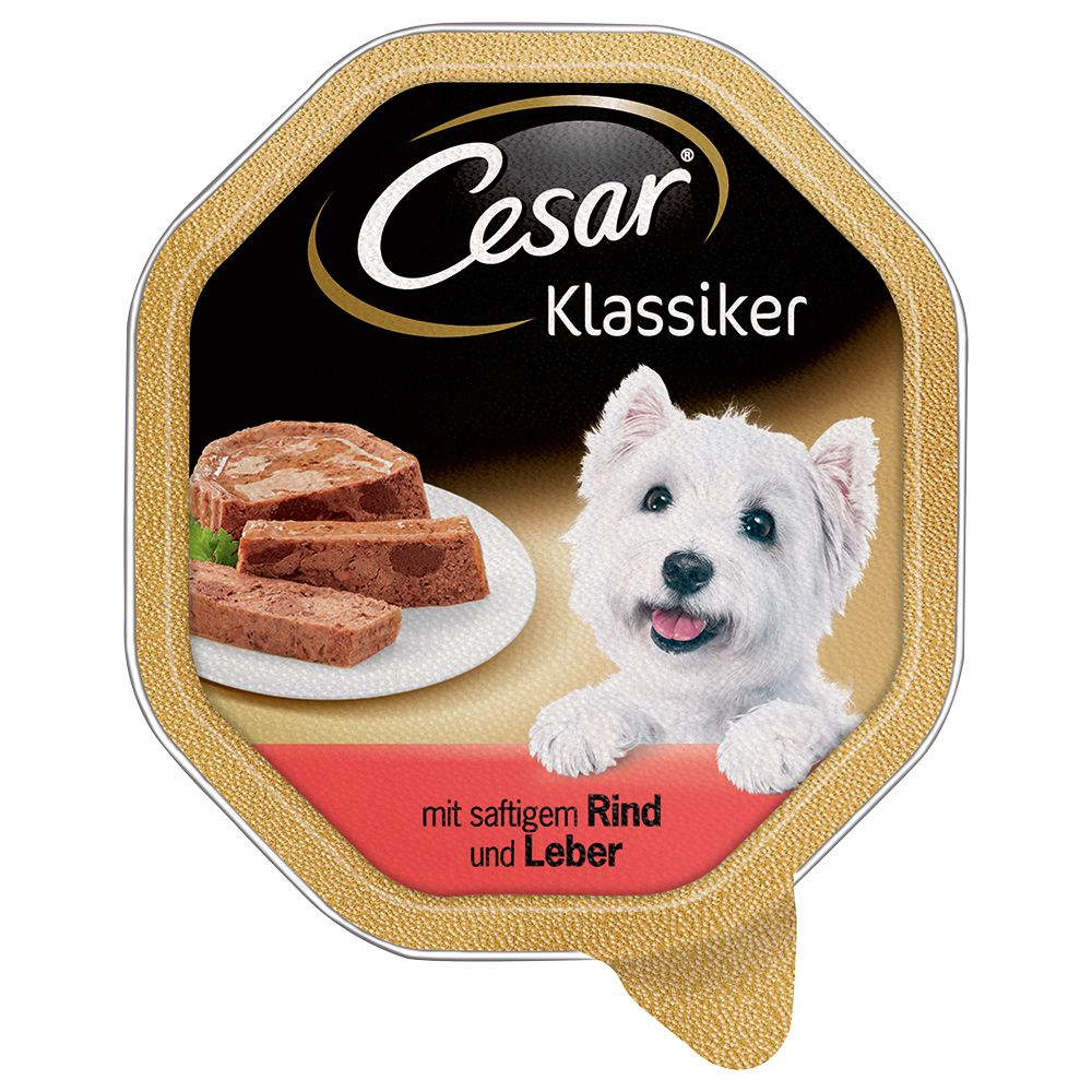 Beef & Liver Classic Cesar Wet Dog Food