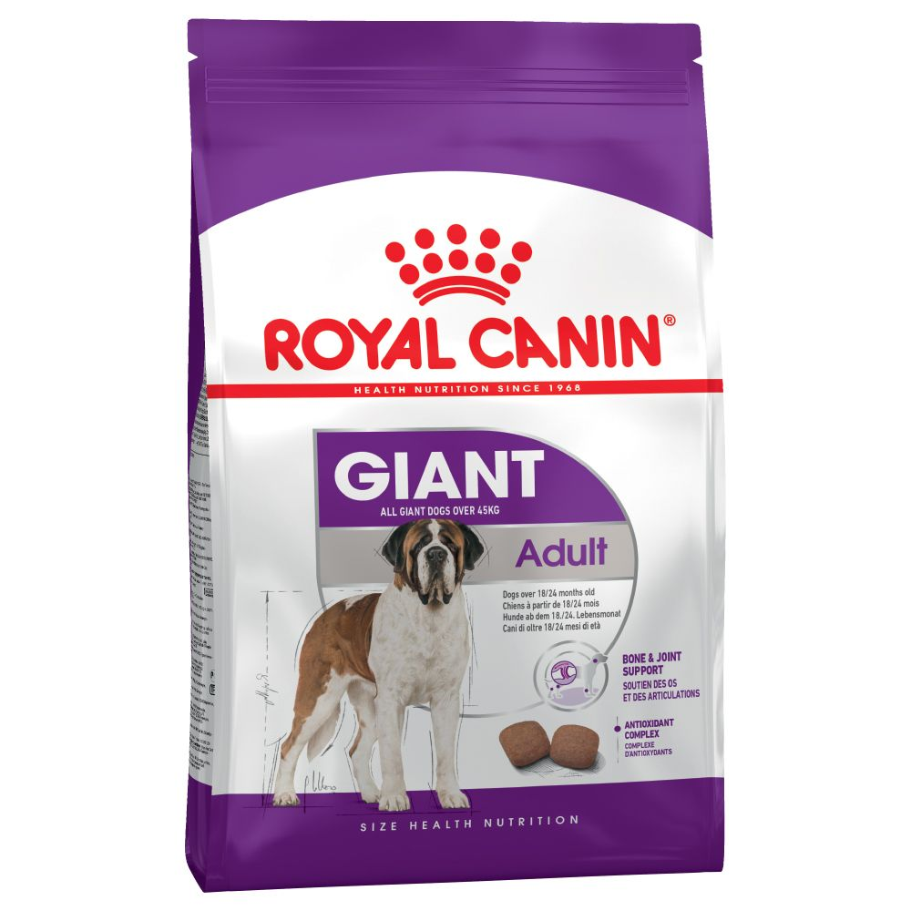 2x15kg Giant Adult Royal Canin Dry Dog Food