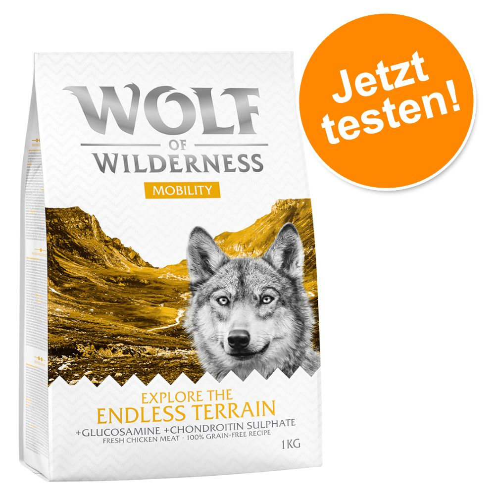 1 kg Wolf of Wilderness - Performance/ Mobility/ Weight Management - Explore The Mighty Summit - Performance