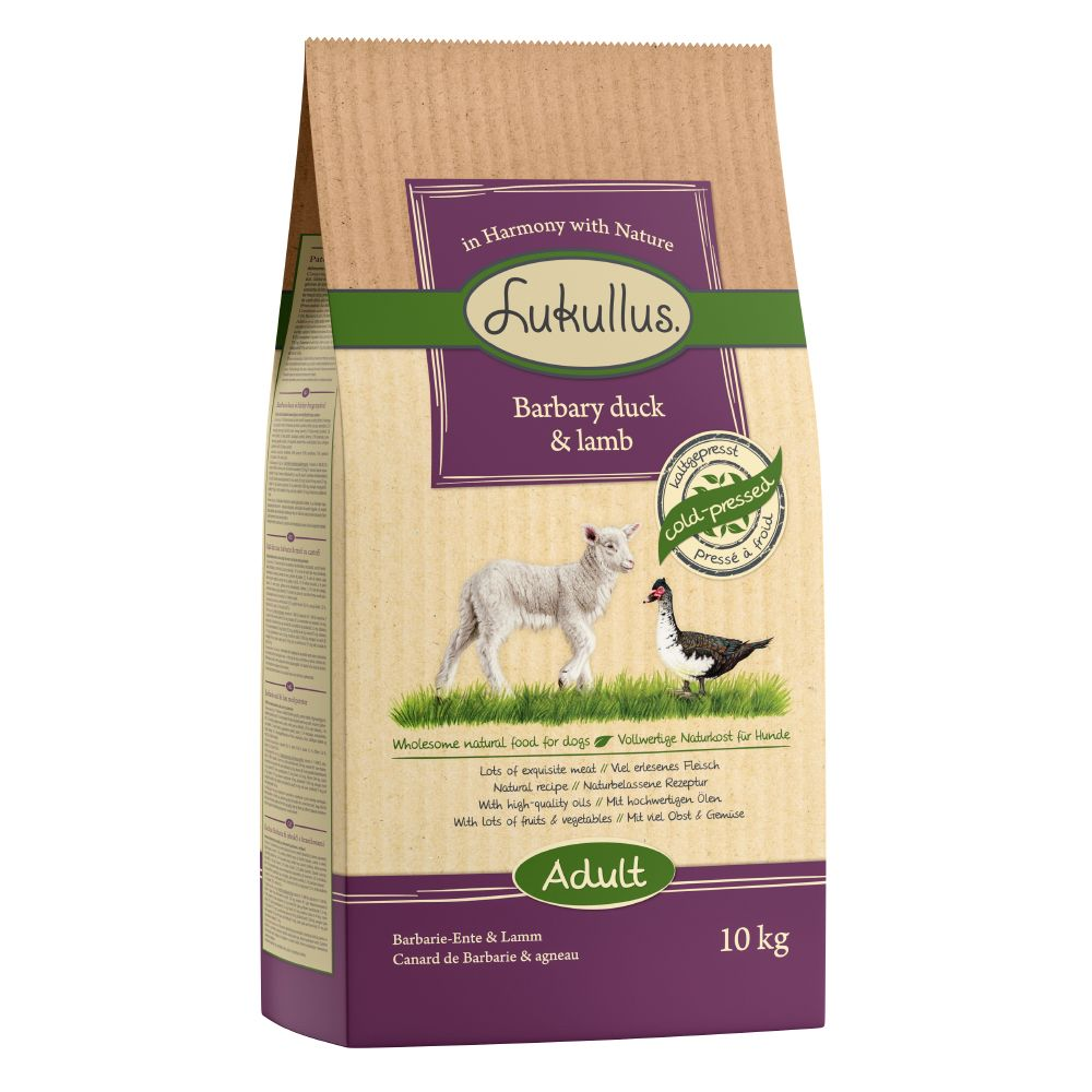 Lukullus Dog Food Barbary Duck & Lamb - 10kg