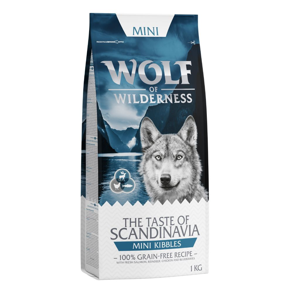 Beef Mini Kibbles Wolf of Wilderness Dry Dog Food
