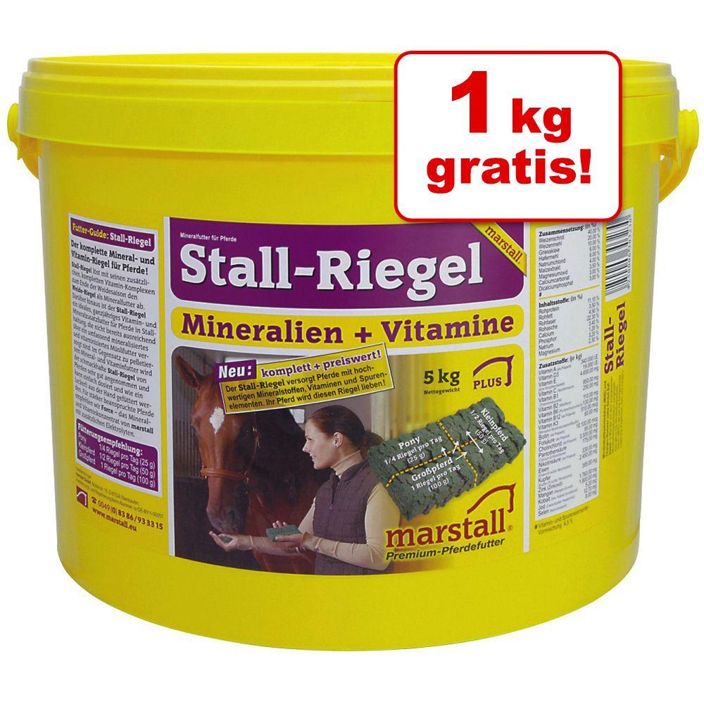 4 + 1 på köpet! 5 kg Marstall Stall-mineralkex - 5 kg