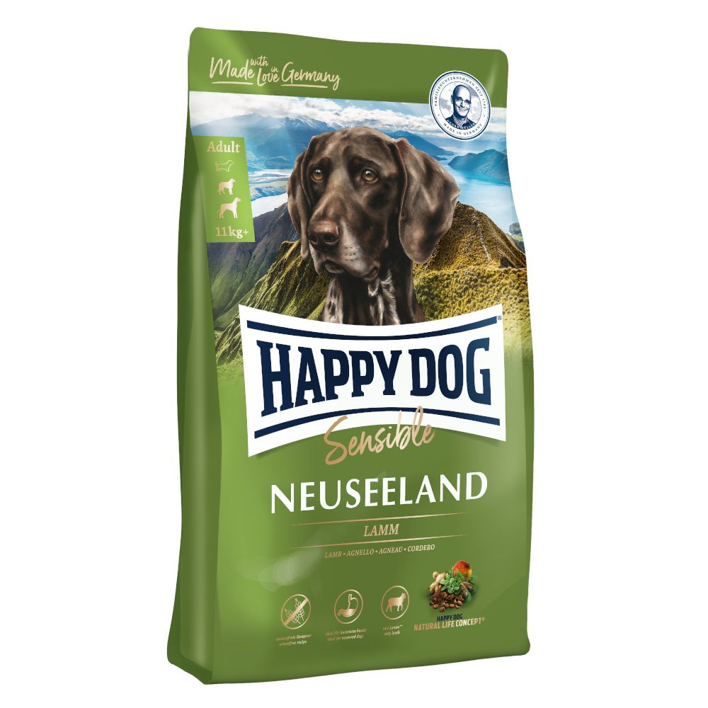 2x12.5kg Sensible New Zealand Happy Dog Supreme Dry Dog Food