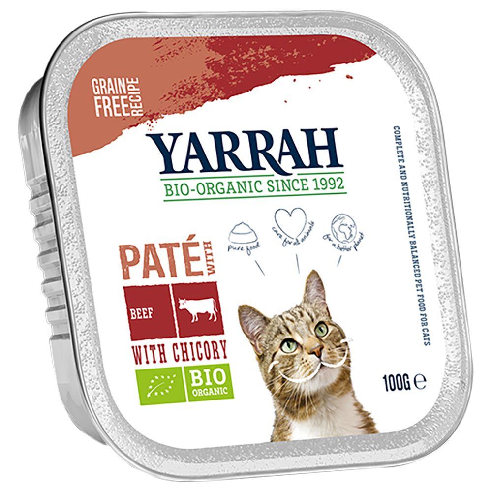 Yarrah Organic Paté 6 x 100 g - Kyckling & kalkon med aloe vera