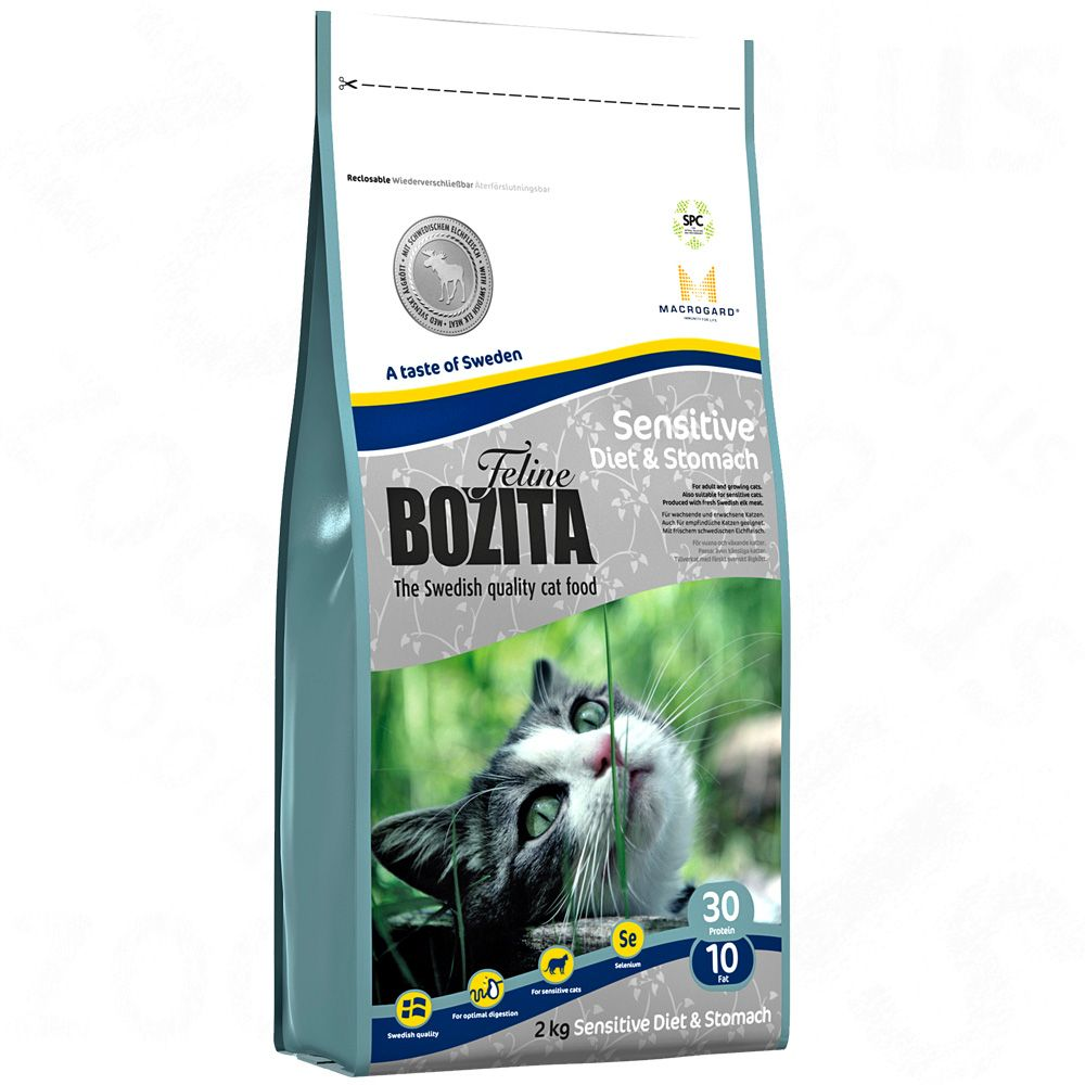 Foto Bozita Feline Diet & Stomach - Sensitive - 2 x 10 kg - prezzo top!