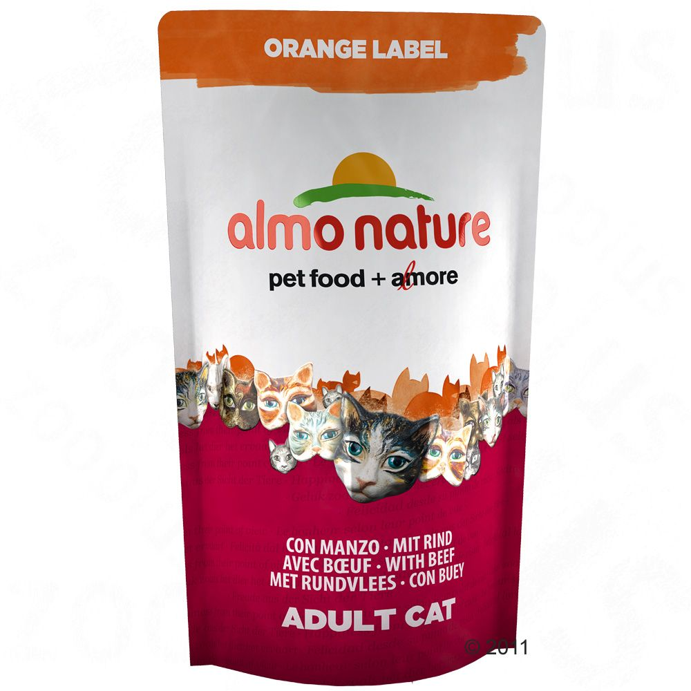 Almo Nature Adult, wołowina  5 x 750 g