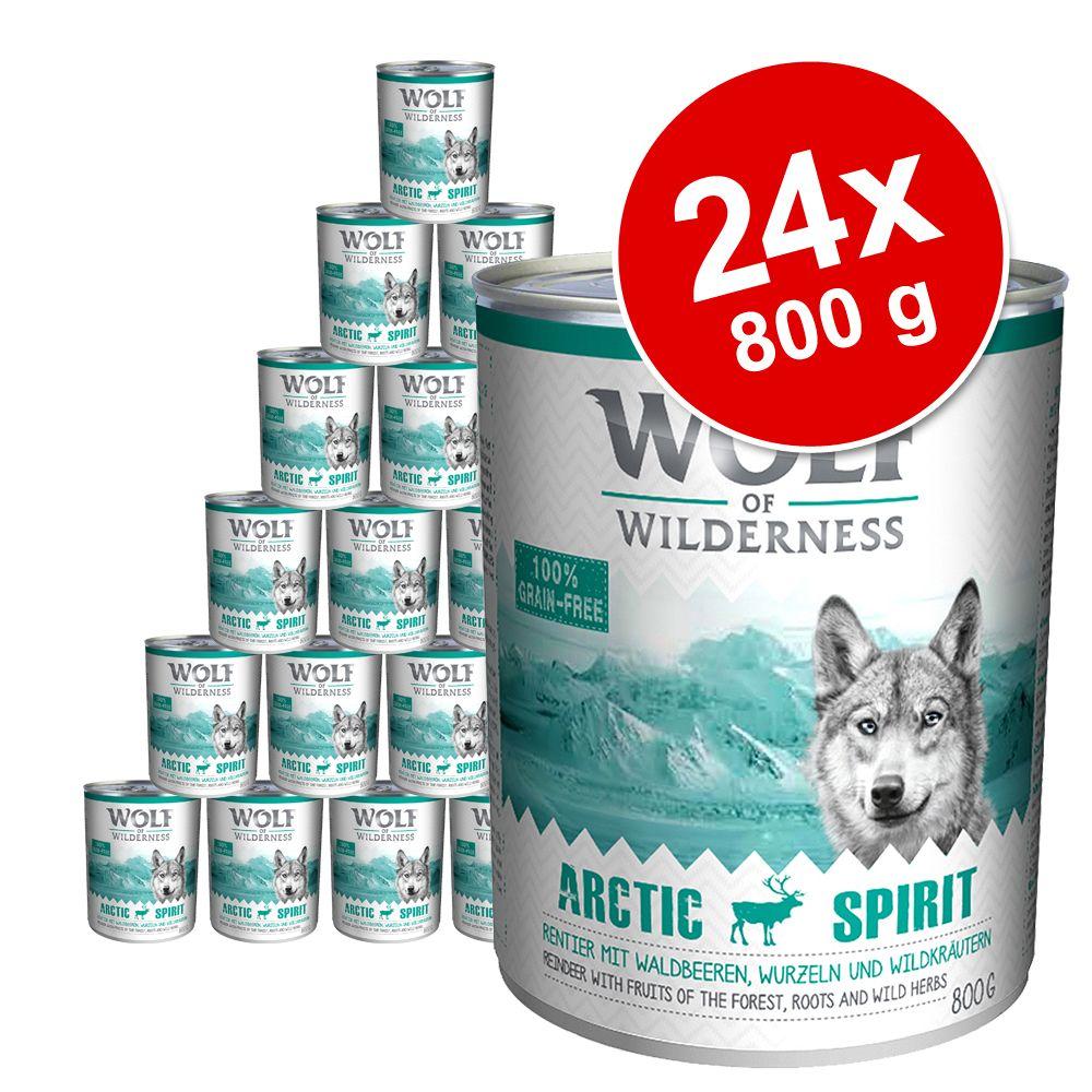 Chien Boîtes et sachets ★ Wolf of Wilderness Lots économiques boîtes