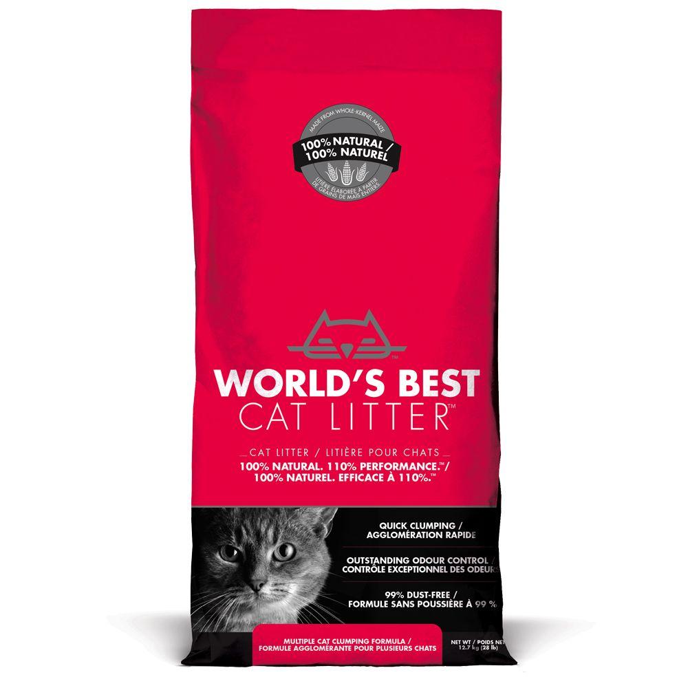 World's Best Cat Litter Extra Strength Katzenstreu - 12,7 kg