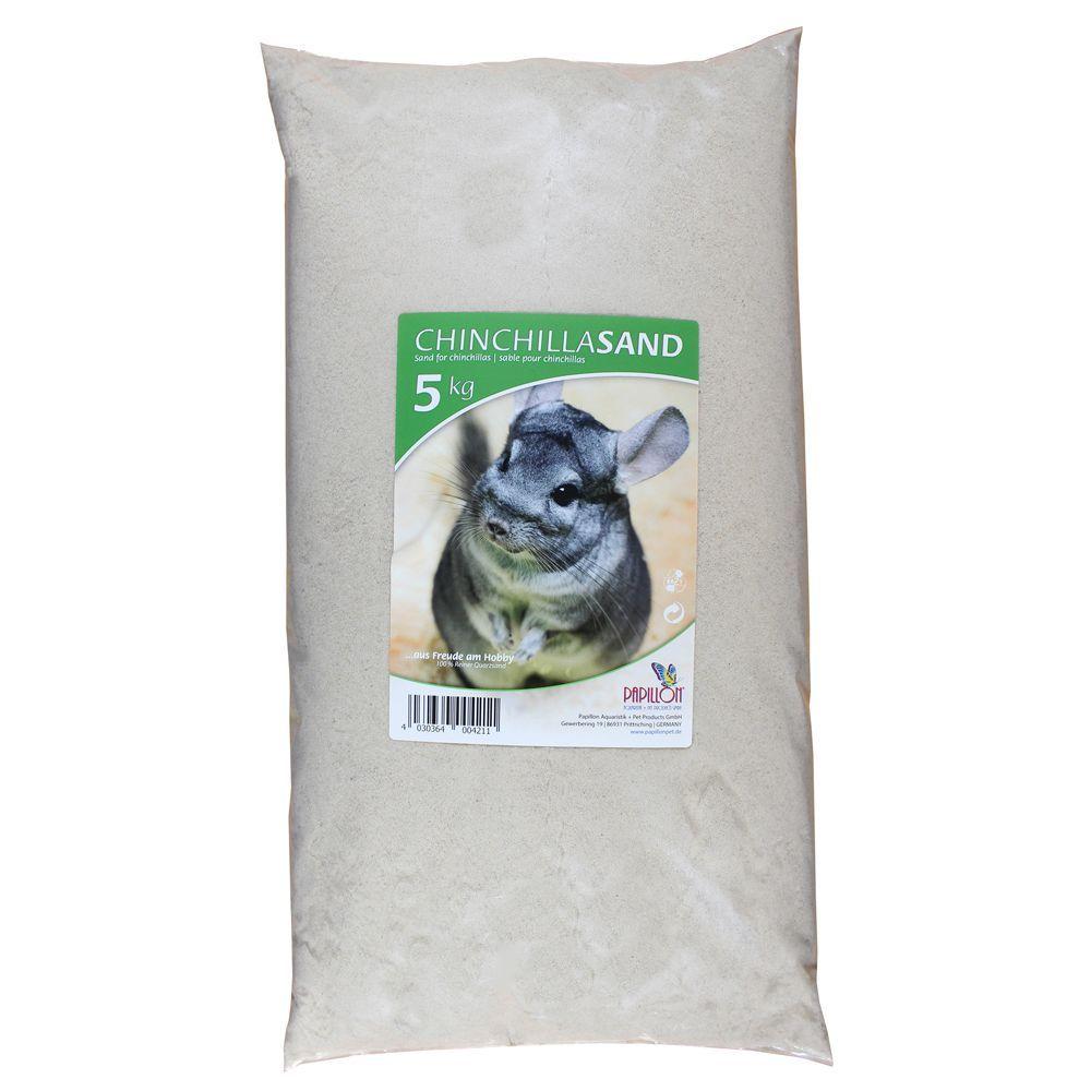 3x5kg Sable de bain pour chinchilla - Sable pour rongeur