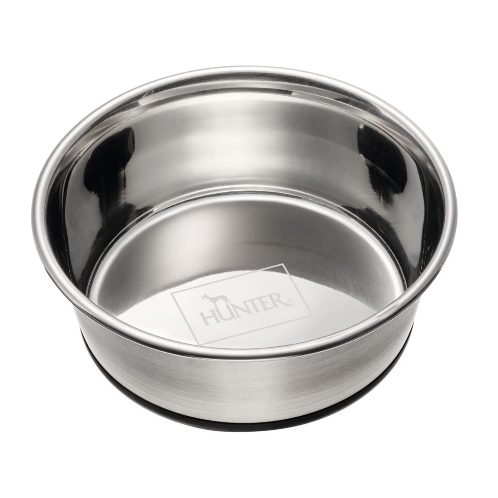 Hunter Stainless Steel Feeding Pet Dog Food Bowl 2.7l