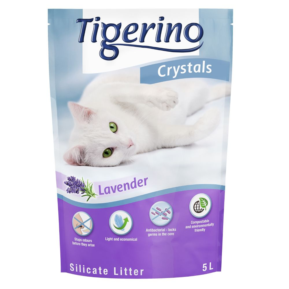 5L Lavender Tigerino Crystals Cat Litter
