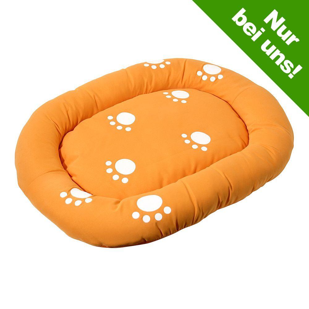 Image of Katzenbett orange - Maße: 45 cm x 35 cm