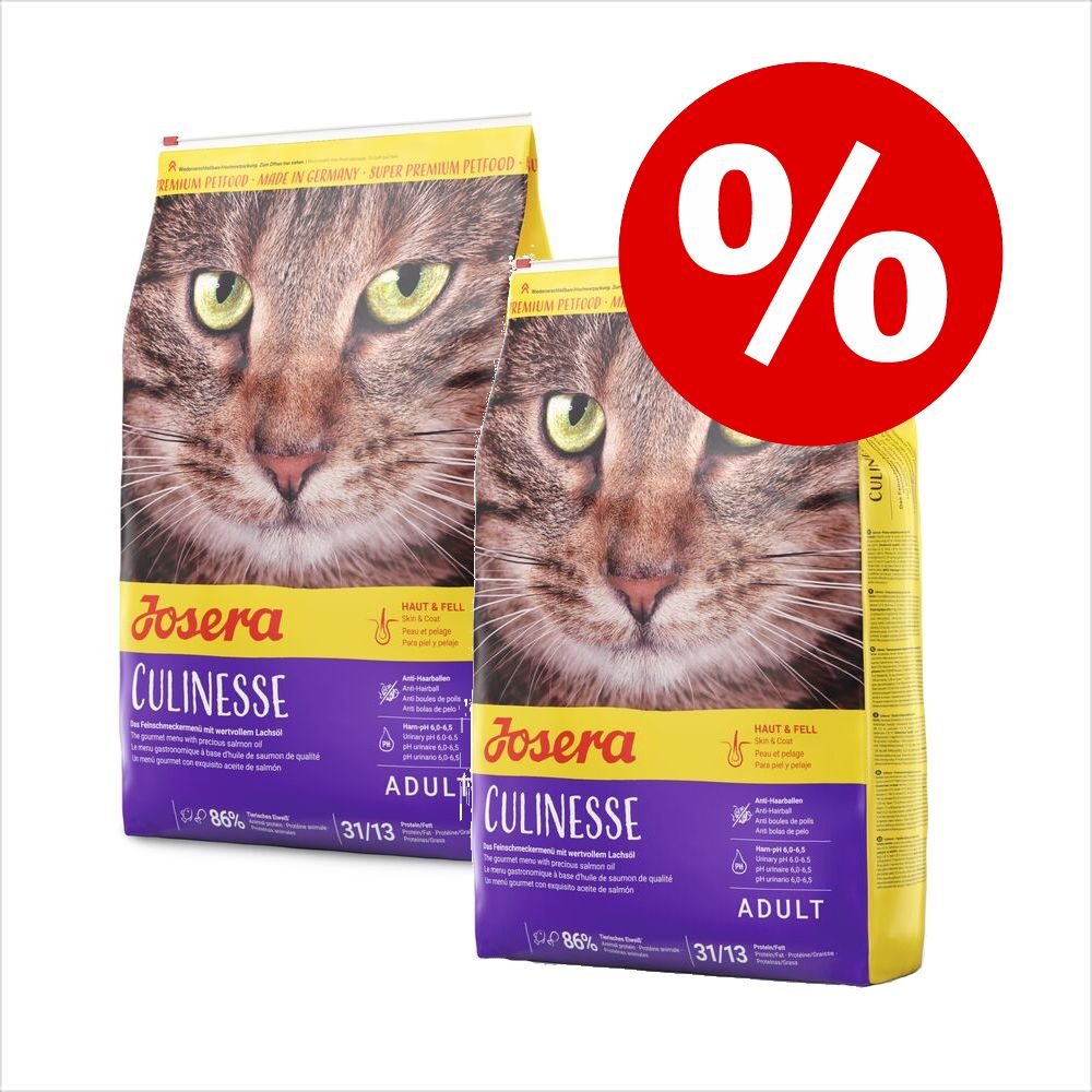 Ekonomipack: 2 x 10 kg Josera kattfoder SensiCat