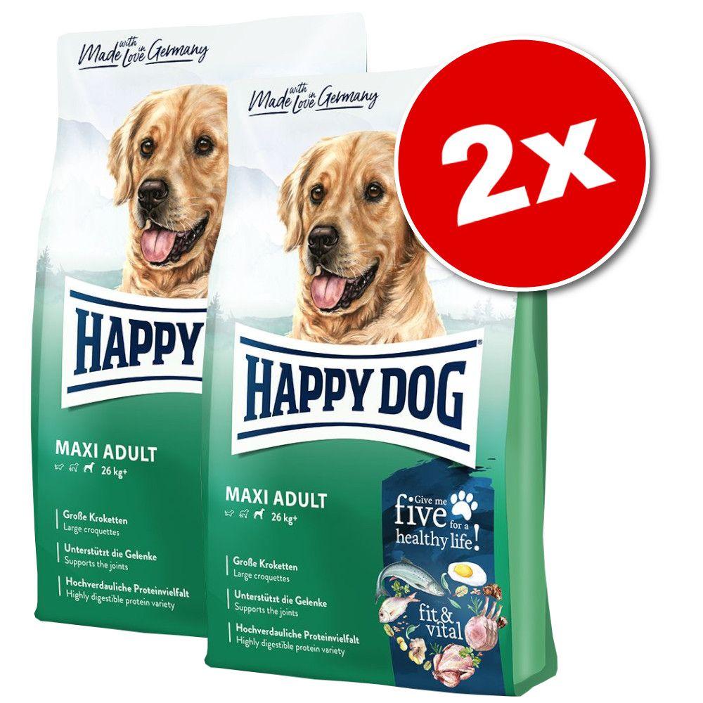 2x12kg Happy Dog Supreme fit & vital Medium Adult - Croquettes pour chien