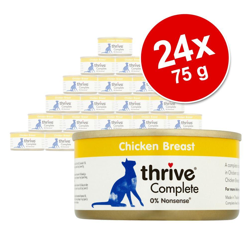 Ekonomipack: Thrive Complete 24 x 75 g - Sardiner & makrill