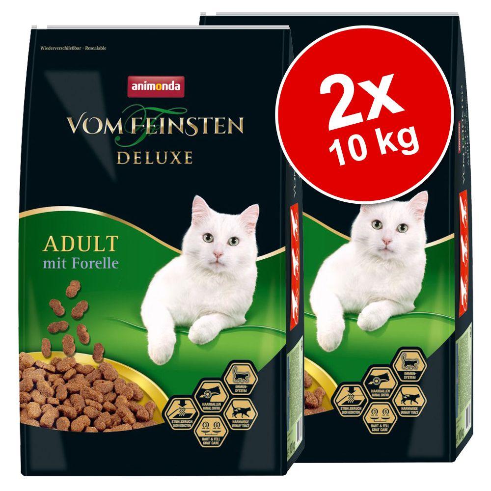 Ekonomipack: 2 x 10 kg Animonda vom Feinsten Deluxe - För kastrerade katter