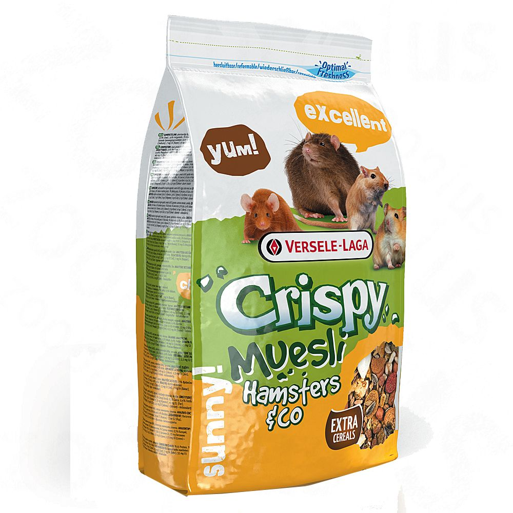 Chrupiące Musli Hamsters & Co - 2 x 2,75 kg