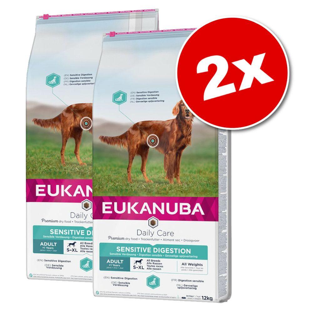 2x12kg Breed et Daily Care Rottweiler Eukanuba - Croquettes pour chien