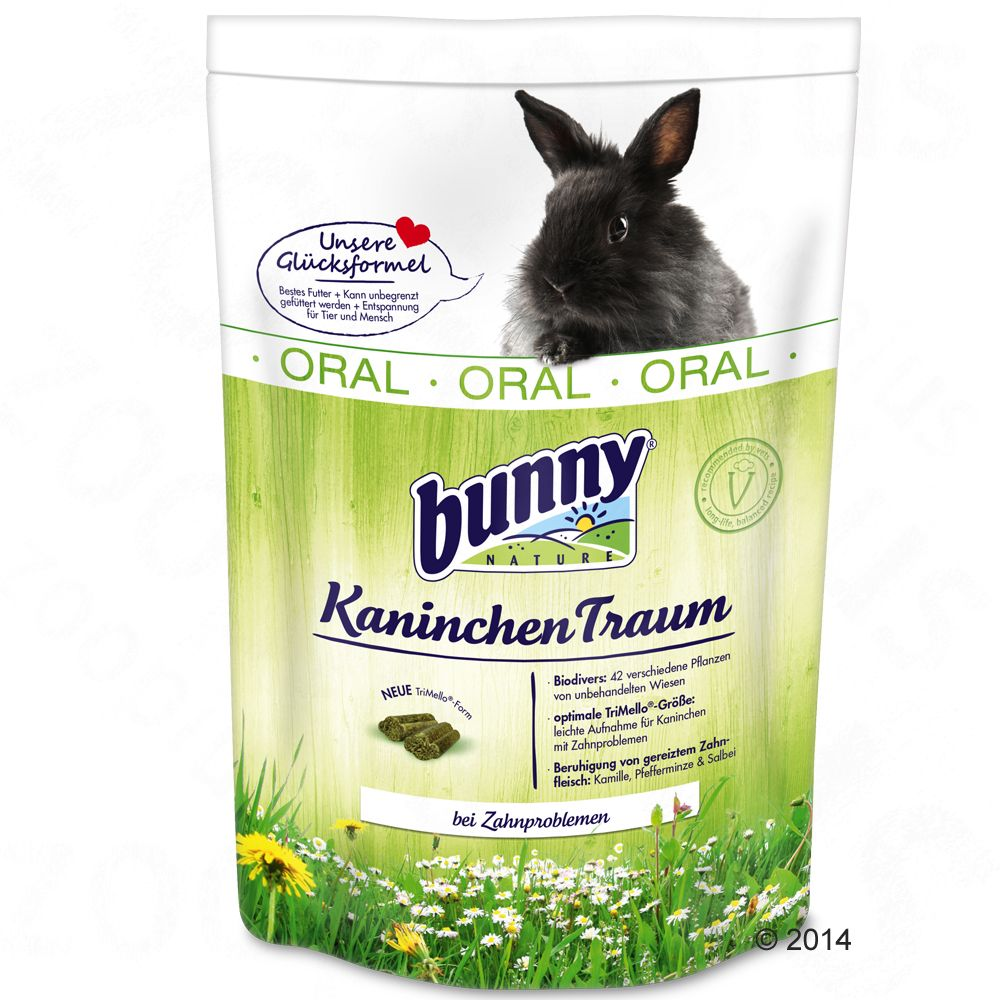 Image of Bunny KaninchenTraum ORAL - 2 x 4 kg