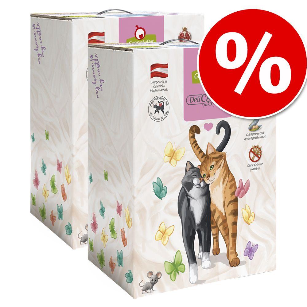 Ekonomipack: GranataPet kattfoder 2 x 9 kg till lågt pris! Adult Fågel (2 x 9 kg)